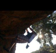 Rock Climbing Photo: Chad Parker on Street Corner