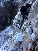 Rock Climbing Photo: toward summit