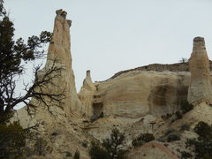 Rock Climbing Photo: These two/three towers are doable! 1st Little Indi...