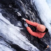 Rock Climbing Photo: Jensens is full value right now, no snow step to r...