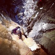 Rock Climbing Photo: Second pitch of second ascent