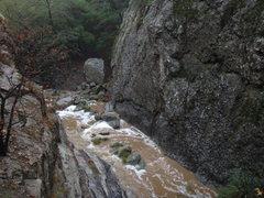 Rock Climbing Photo: North Fork of Matilija Creek.