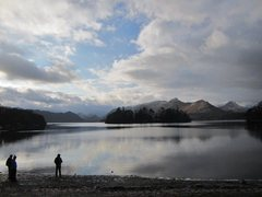 Rock Climbing Photo: Winter over Derwentwater Keswick