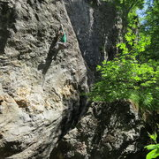 """Rock Climbing Photo: Me sticking """"the move"""" for the send... p..."""