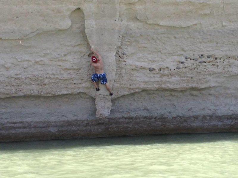 Rock Climbing Photo: Dicks Blood