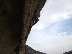 Rock Climbing Photo: Last one