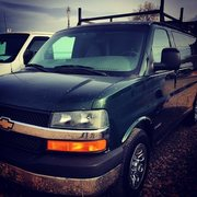 My new dirtbag van! 2003 Chevy Express 2500 AWD