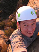 Rock Climbing Photo: Me at Gibralter Mountain