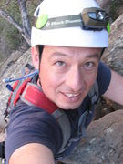 Rock Climbing Photo: Me at Sespe Gorge