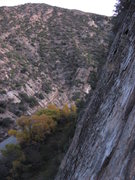 Rock Climbing Photo: Nice view from tree route.