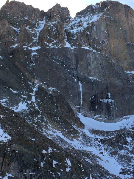 Long's Peak 12-Dec-2014.