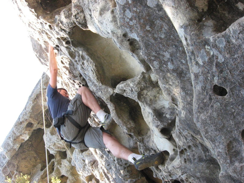 Rock Climbing Photo: Me at Goat Rock in Castle Rock State Park
