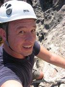 Rock Climbing Photo: Me at Goat Rock
