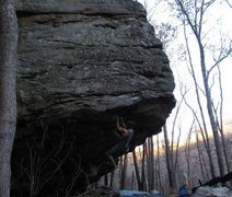 "Rock Climbing Photo: Exploring the moves after first finding the ""..."