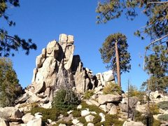 Rock Climbing Photo: High Profile Pinnacle near Green Valley Lake, Runn...