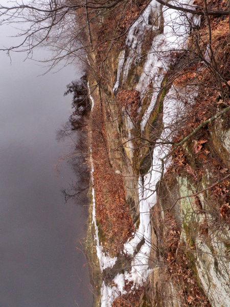 Rock Climbing Photo: Lone Rock:Billy Breaths 12/13/14