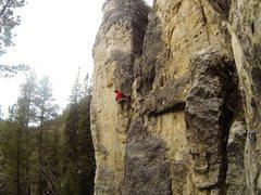 Rock Climbing Photo: Getting smoked.