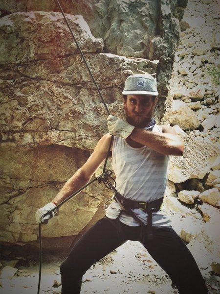 Rock Climbing Photo: belay master