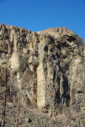 Rock Climbing Photo: The North Wall is the area to the right of this ma...