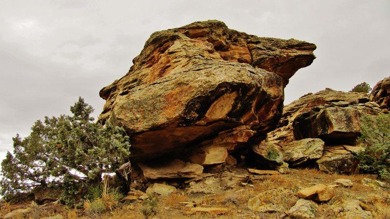Honeycomb Boulder.