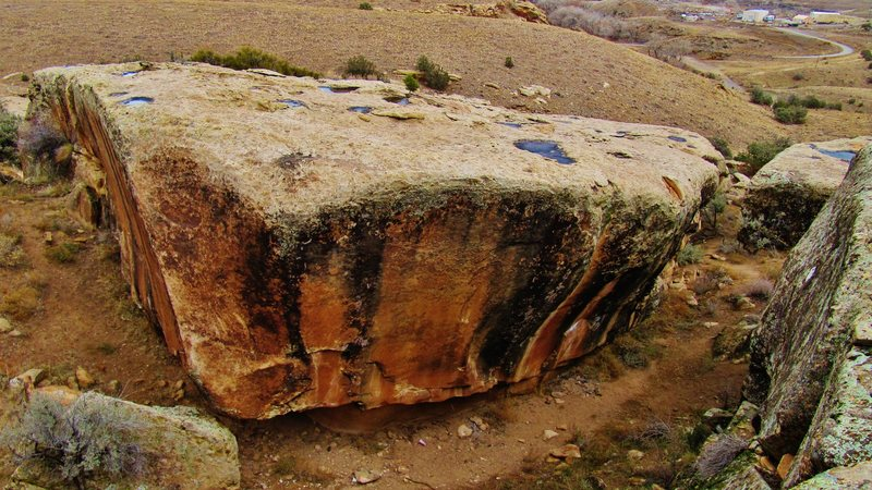 Rock Climbing Photo: Rib Cage Boulder.