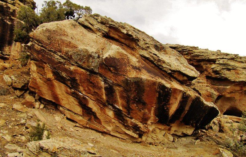 Weeping Boulder.