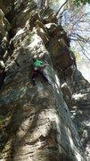 Rock Climbing Photo: Farley