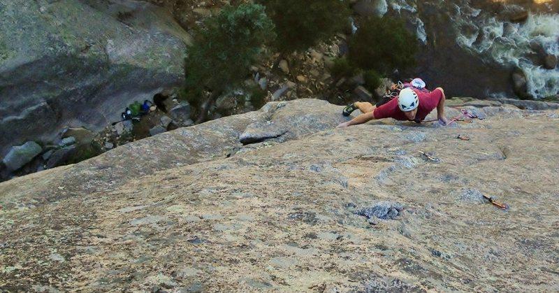 Rock Climbing Photo: P2 Earth Voyage.