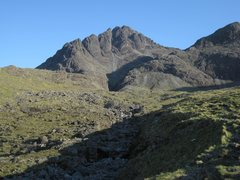 Rock Climbing Photo: Pinnacle Ridge, Sgurr nan Gillean (Western Cuillin...