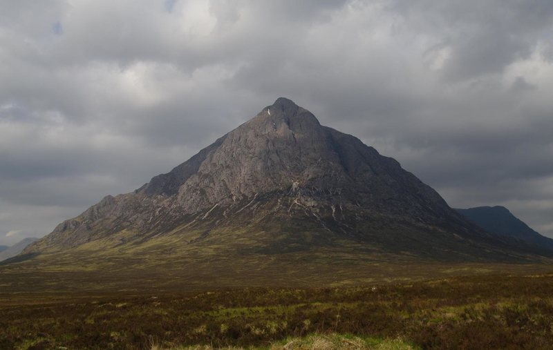 Rock Climbing Photo: The elegant Buachaille Etive Mor from the north, (...