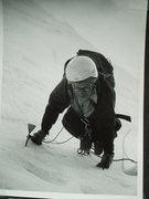Rock Climbing Photo: RoutePhoto#3 - Julius Bede on the ice (Pitches 1-4...
