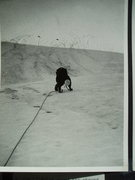 Rock Climbing Photo: RoutePhoto#2 - Julius Bede on the initial ice pitc...
