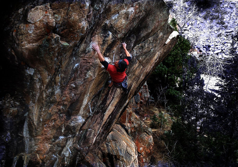 Rock Climbing Photo: CT on Harmonic Resonance.
