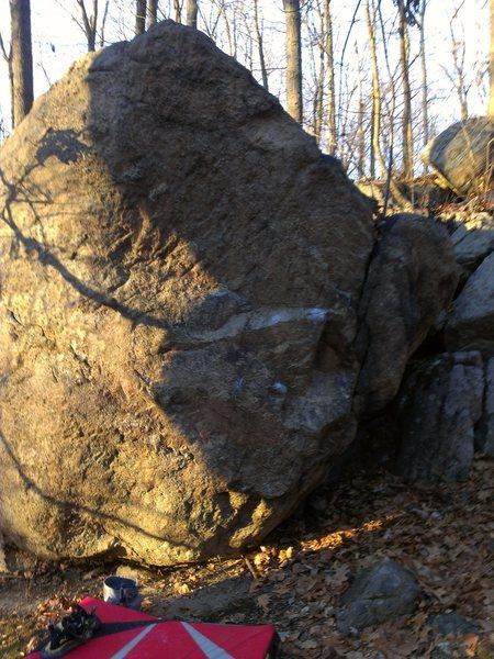 Rock Climbing Photo: Approach Boulder