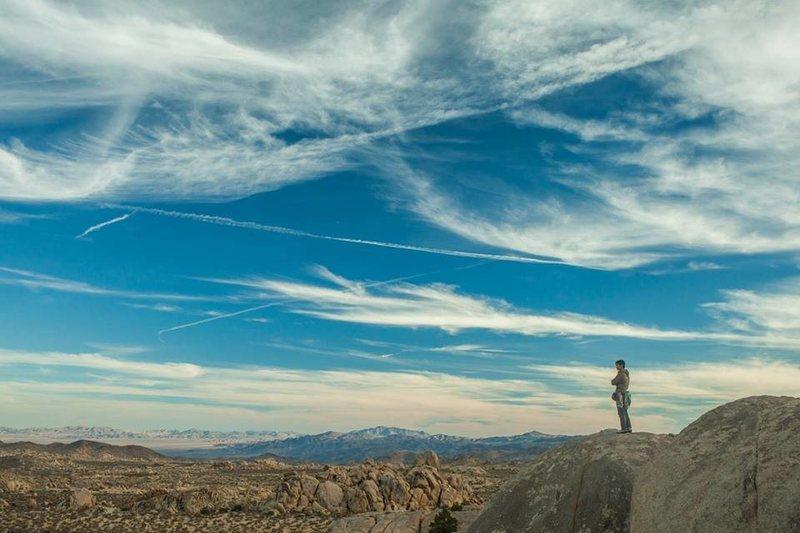 Rock Climbing Photo: Joshua Tree, Isles in the Sky