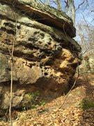 Rock Climbing Photo: More boulders at the top of Ballard. So much poten...