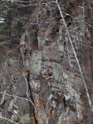 Rock Climbing Photo: Chris on Zen-ith (5.11b)