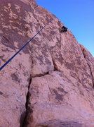 Rock Climbing Photo: approaching the top