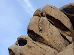 Rock Climbing Photo: Dyno In The Dark, without dyno-ing, in broad dayli...