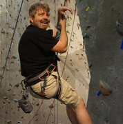 Rock Climbing Photo: Me at the gym