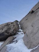 Rock Climbing Photo: Zumie's Chimney, December 2014.