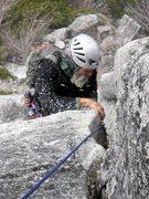 Rock Climbing Photo: When life gives you a blizzard, climb something ea...