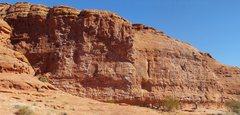 Rock Climbing Photo: Chuckwalla Wall