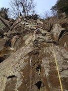 Rock Climbing Photo: FA of Indian Summer