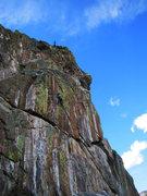Rock Climbing Photo: BS on Rustic Wilderness.