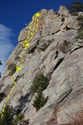 Rock Climbing Photo: Enigma and Autumn Gold.