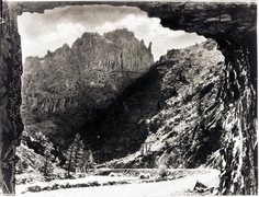 Rock Climbing Photo: The Triple Tier Area back when the Tunnel was firs...