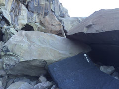 "Rock Climbing Photo: Another view of the ""Horizontal Crack Problem..."