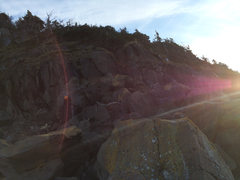 Rock Climbing Photo: Sunlight