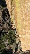 Rock Climbing Photo: CC on the send.